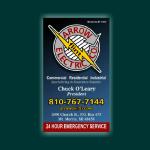Arrow Flint Electric Business Card
