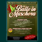 Ballo in Maschera Poster