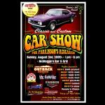 Mo Doggies Car Show 2009 Poster