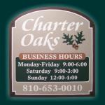 Charter Oaks Sign