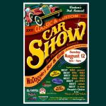 Fentons Car Show 2001 Poster