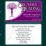 Creative Healing Business Card