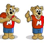 M Bear Logo