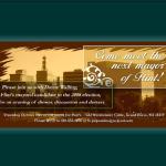 Mayor Invitation Design