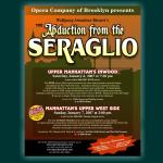 Abduction from Seraglio Poster