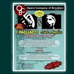 I Pagliacci Poster