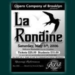 La Rondine Poster