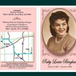 Ruby Bingham Invitation