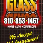 Swartz Creek Glass Business Card
