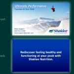 Shaklee Business Card