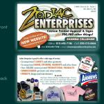 Zodiac Enterprises Business Cards